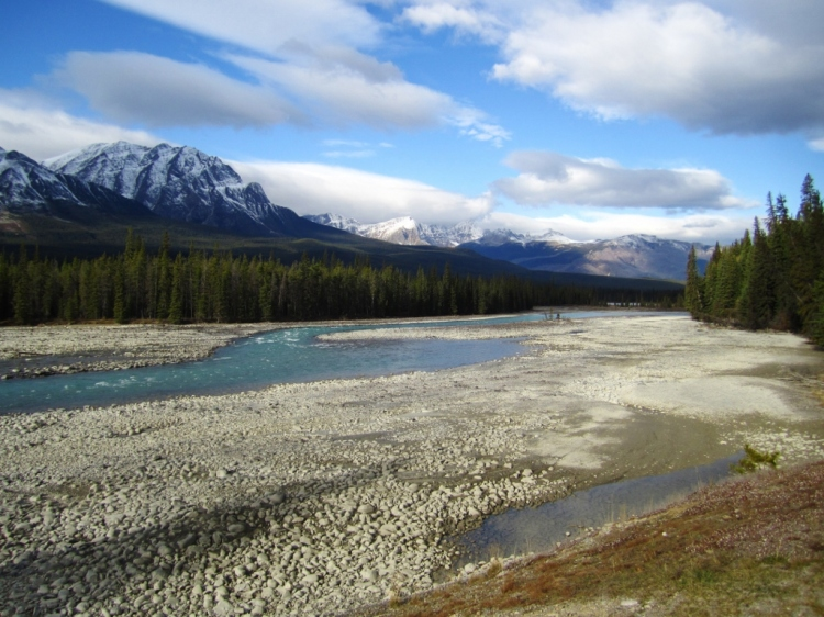 Bow River, Icefields Parkway