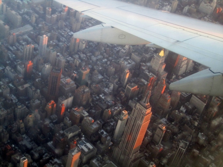 Empire State Building from the Air