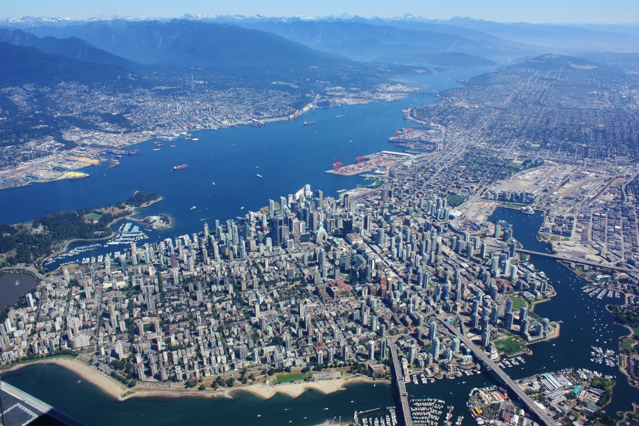 Vancouver from the Air – Photo Album   passepartout travel