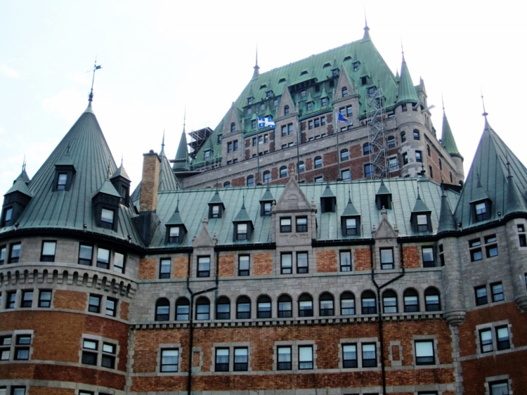 Chateau Frontenac by day...