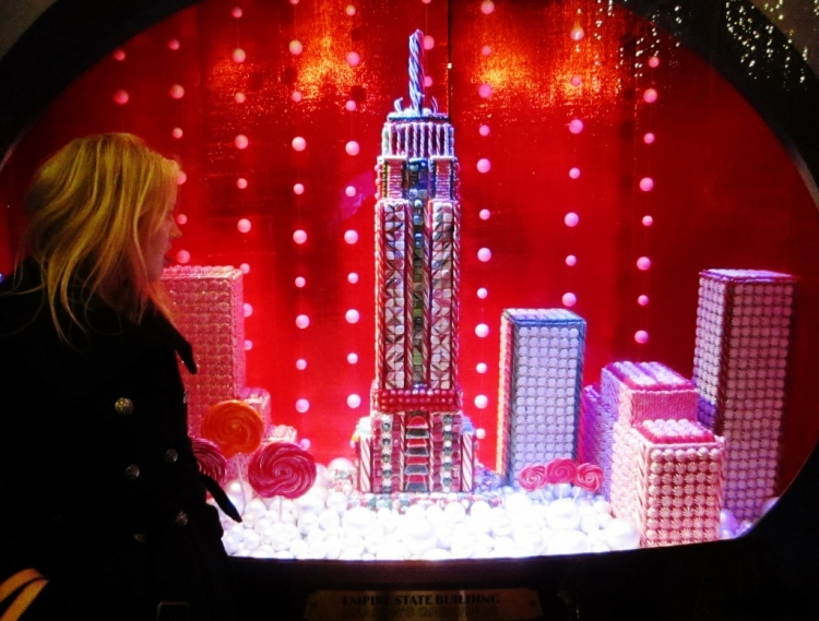 An Empire State of Candy in a Manhattan window