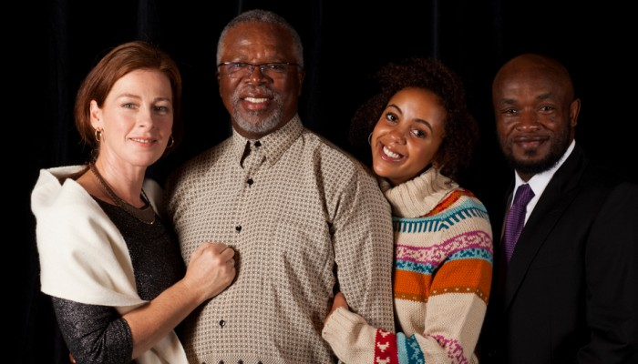Danford, Kani, Ngaba and Ntshoko - cast of 'Missing...'